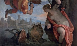 Perseus and Andromeda, 1584, by Veronese.