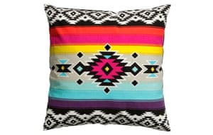 Space gallery: Aztec cushion