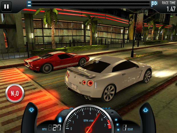 CSR Racing was a big hit for NaturalMotion.