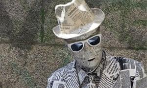 newspaper man madrid