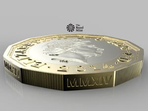 The new one pound coin is hailed as 'the most secure circulating coin in the world to date'.