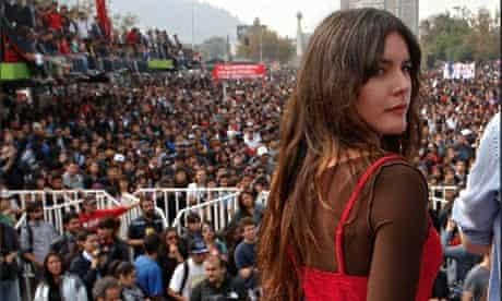 Camila Vallejo in Chile