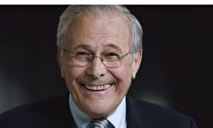 Rumsfeld: unruffled by the Errol Morris documentary treatment