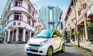 Bosch electric car in Singapore