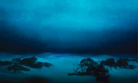 Underwater terrain