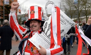 This Sunderland supporter has come prepared.