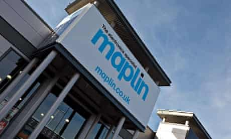 Maplin retail unit