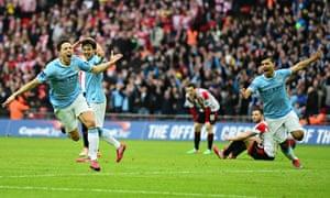 Manchester City 3-1 Sunderland  1633d0ee9c5e2
