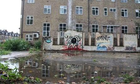 London undeveloped land clapton