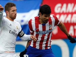 Expect more of this sort of thing: Sergio Ramos and Diego Costa going mano-a-mano.