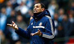 Gus Poyet, the Sunderland manager, was proud of his team's performance in the Capital One Cup final