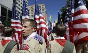 Boy Scouts Gay Pride Parade
