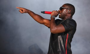 Tinie Tempah features with Dvbbs and Borgeous on this week's number 1 single in the UK charts: Tsunami (Jump).