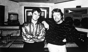 Mike Oldfield and Richard Branson in 1973