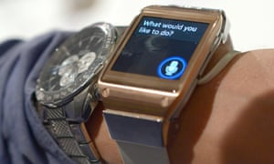 Samsung's 'Galaxy Gear' smartwatch was unveiled at IFA in Berlin in September 2013