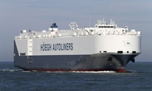 The Norwegian car carrier Hoegh St Petersburg  was asked by Australian authorities to assist in the search for possible debris from missing flight MH370.