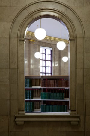 Inside the manchester library