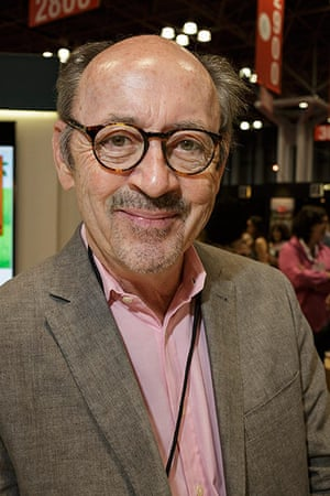 10 best: Billy Collins signing books at Bookexpo America