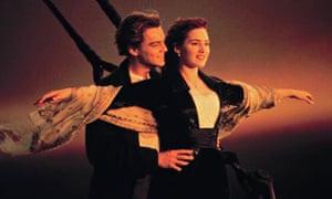 Leonardo DiCaprio and Kate Winslet in Titanic