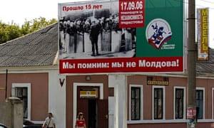 Moldovan city of Tiraspol