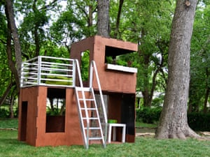 Modular playhouse from Play Modern.