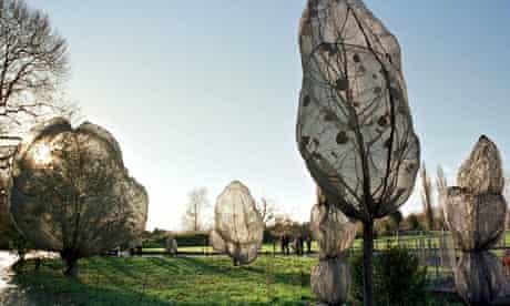 Christo Wrapped Trees