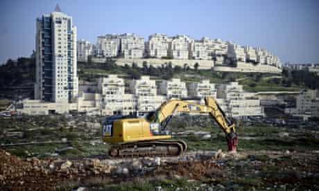 The Israeli settlement of Har Homa in East Jerusalem