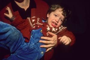 Marlon crying, Berlin, 1992.