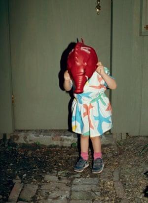 Elephant mask, Berlin, 1998.