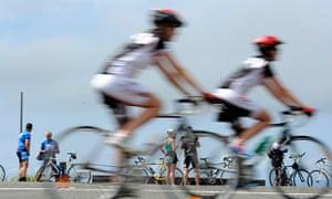 Sydney cyclists