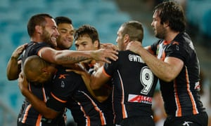 Wests Tigers 25 16 South Sydney Rabbitohs Nrl Match Report Sport The Guardian