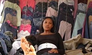 Girl in Kibera, Nairobi, Kenya