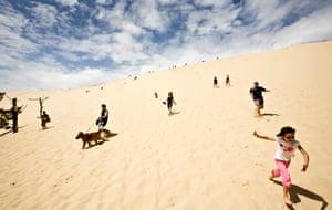 Dune de Pyla, the biggest sand dune in Europe