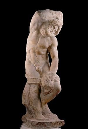Bearded Slave by Michelangelo