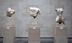 Parthenon sculptures of Greece
