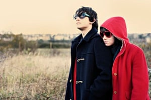 Craig Roberts and Yasmin Paige in Ayoade's directorial debut, Submarine.