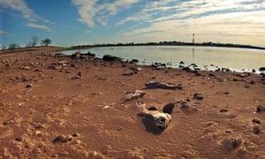 Texas lake drought