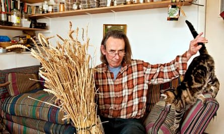 Andy Forbes … grows his own wheat.