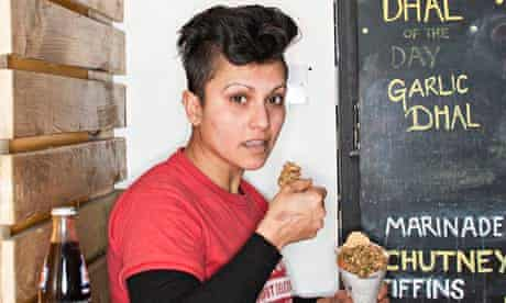 Rachna Dheer … keen acolyte of Bombay cuisine