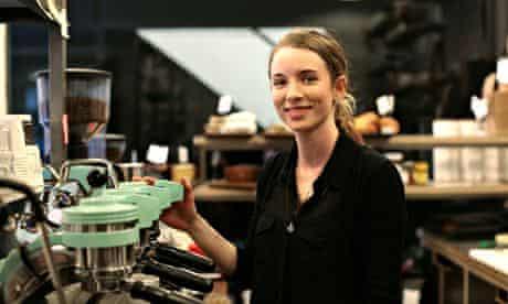 Catherine Sheay … coffee obsessive.