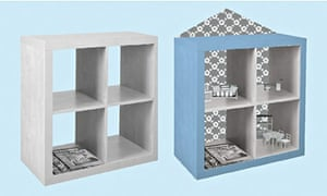 pimp up your drawers three great ikea hacks life and style the guardian. Black Bedroom Furniture Sets. Home Design Ideas