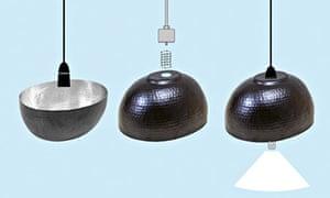 Do Something - March - Ikea hacks - Angenam fruit bowl lampshade