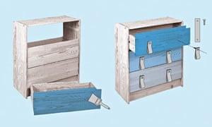 Do Something - March - Ikea hacks - Rast drawers