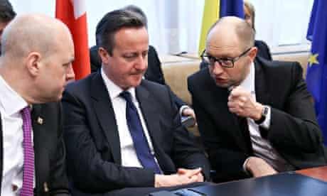 European Summit Cameron