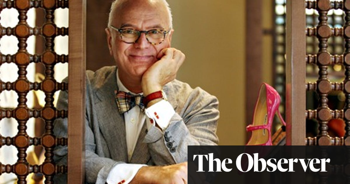 474381c8c7 Manolo Blahnik: 'Relationships for me are a real no-no' | Life and ...