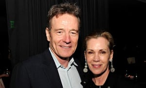 Cranston with his wife, the actor Robin Dearden.