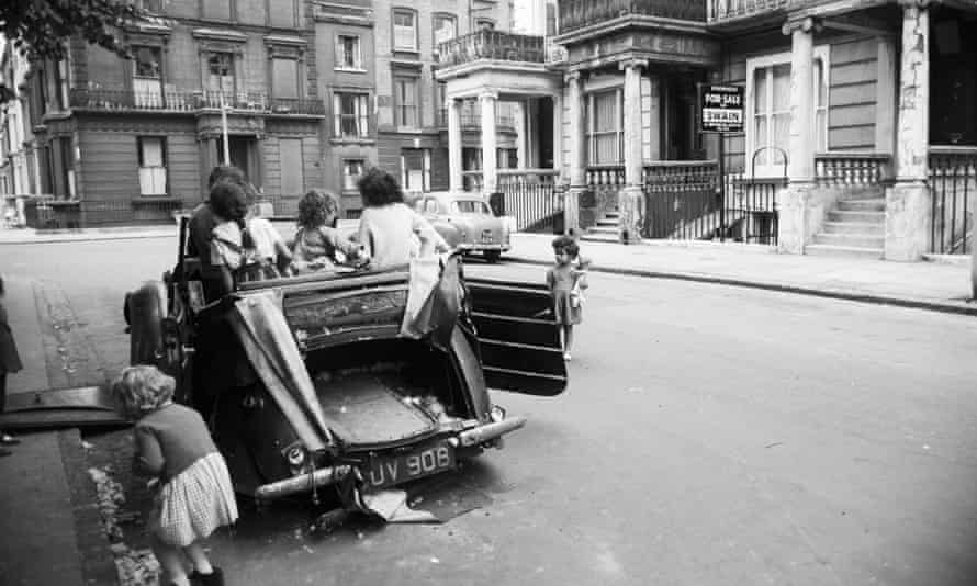 Peter Rachman's properties in London in the 1950s and early 1960s were known for their slum conditions.