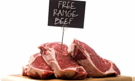 free range beef