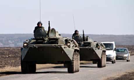 Ukrainian army APC armoured vehicles mov