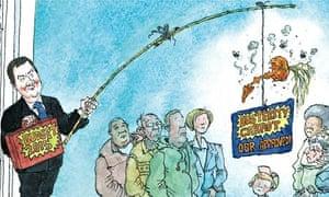 Dave Simonds caption on Osborne budget 2014